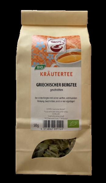Griechischer Bergtee Kräutertee | geschnitten | BIO | 50g