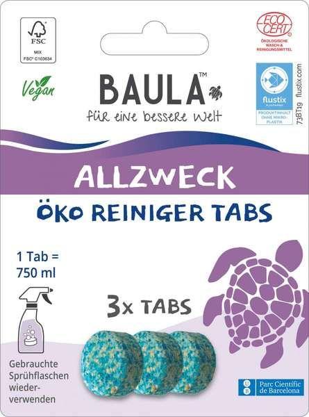 Biobaula ® 3x Allzweck Öko-Tab   biologisch abbaubar   nachhaltig