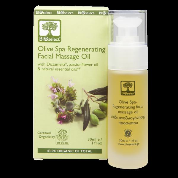Oliven SPA regenerierendes Gesichtsmassageöl