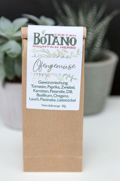 Botano - Gewürzmischung Ofengemüse | mit kleiner Dosierschaufel aus Holz