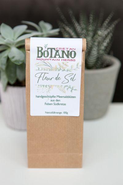 Botano - Fleur de Sel | mit kleiner Dosierschaufel aus Holz
