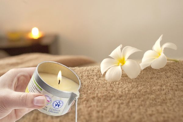 BIO-Massagekerze