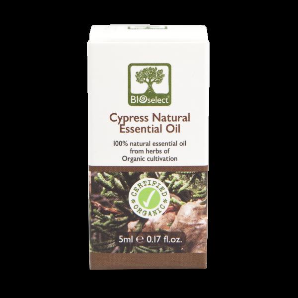 Zypresse - biozertifiziertes, natürliches, essentielles ätherisches Öl