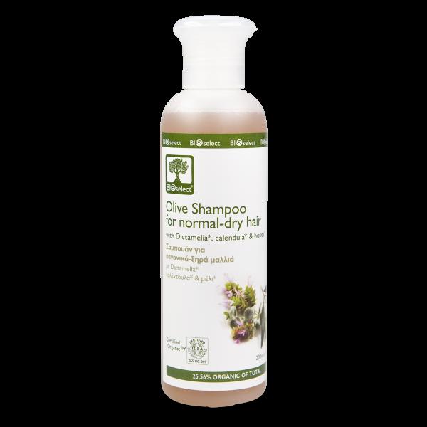 Olivenöl-Shampoo für normales und trockenes Haar