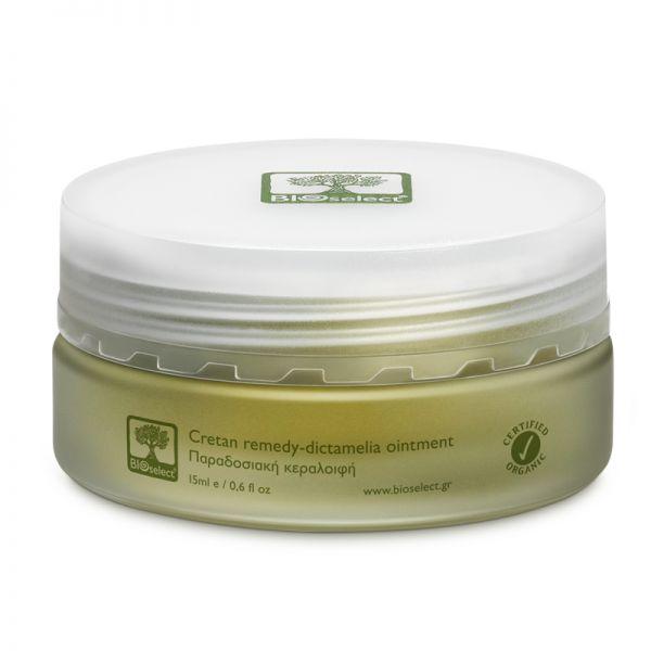 Dictamelia-Salbe (Hautbalsam) zur Pflege besonders irritierter Hautstellen