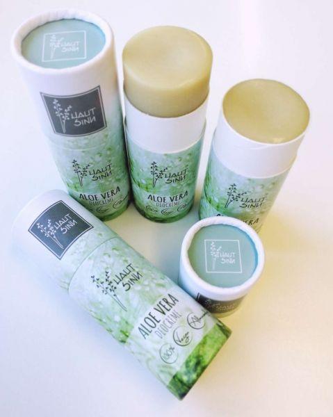 Aloe Vera Deostick mit Bioölen 60g vegan