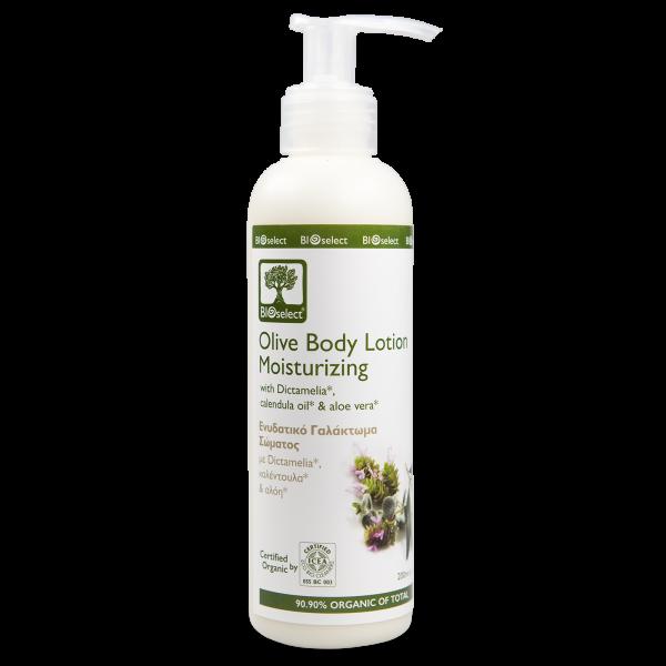 Feuchtigkeitsspendende Bio-Körpermilch mit Aloe Vera
