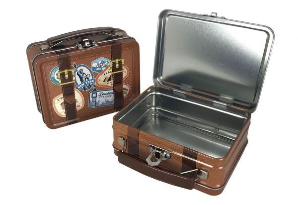 Koffer | Geschenkverpackung | Weissblech | 1 Stück