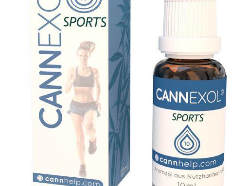 Cannexol Sports 10% CBD Öl     zertifiziert   10ml   Aroma