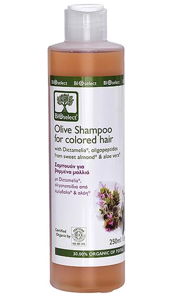Bio-Olivenöl-Shampoo für coloriertes, strapaziertes Haar