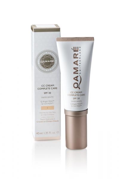 CC Creme No.1 SPF30 Swiss White - Qamarè