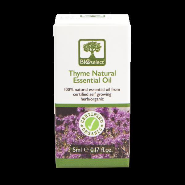 Thymianöl - biozertifiziertes, natürliches, essentielles ätherisches Öl