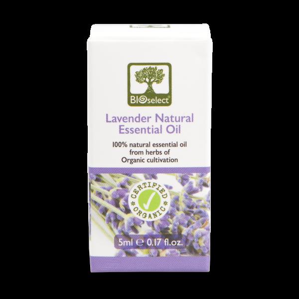 Lavendelöl - biozertifiziertes, natürliches, essentielles ätherisches Öl