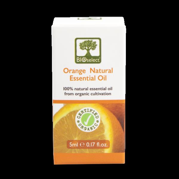 Orangenöl - biozertifiziertes, natürliches, essentielles ätherisches Öl