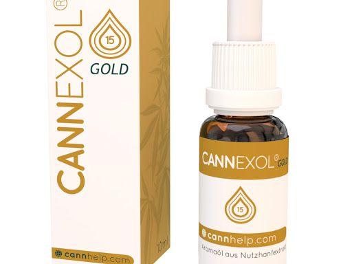 Cannexol GOLD 15% CBD Öl | Vollspektrum | zertifiziert | 10ml | Aroma