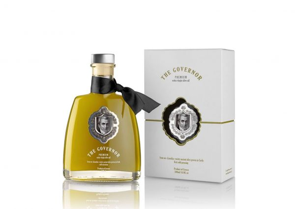 The Governor Premium | Ernte Nov. 20| hochpolyphenolisches extra natives Olivenöl 500ml | Neue Ernte
