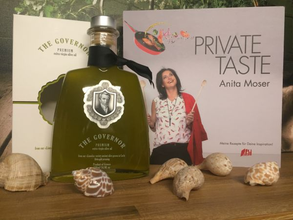 The Governor Premium 500ml + Kochbuch 'Private Taste'