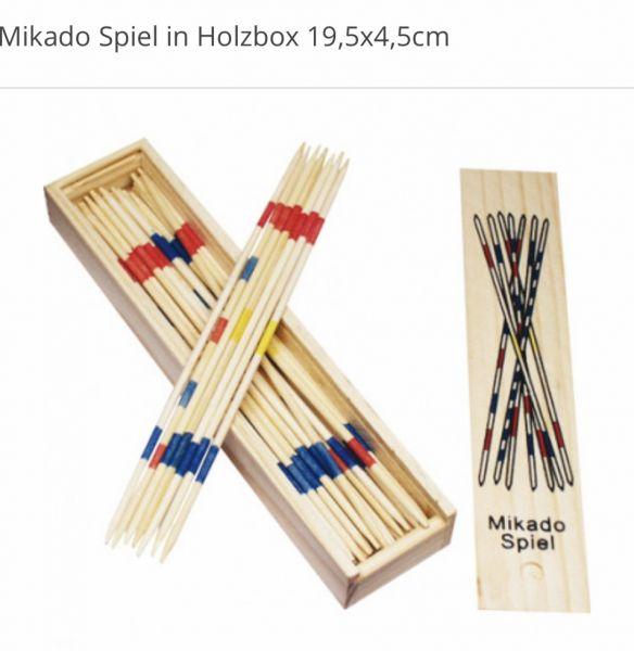 Mikado-Spiel aus Holz für Kinder ab 3 Jahren