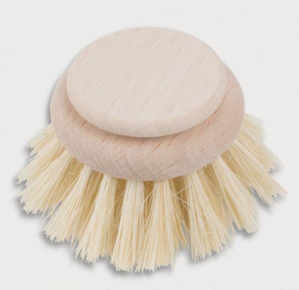Ersatz-Bürstenkopf für Spülbürste aus echtem Fibre