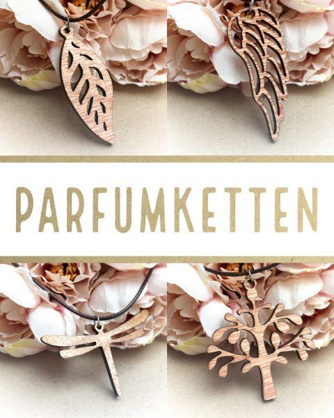 Parfumkette aus Holz | 5 Designs zur Auswahl
