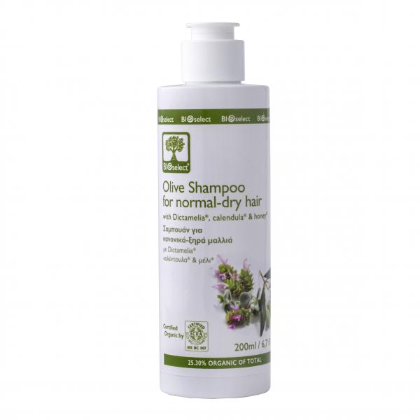 Bio-Olivenöl-Shampoo für normale und trockene Haare