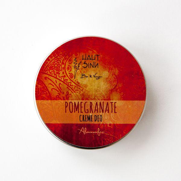 Pomegranate Creme Deo (Granatapfel) mit Bioölen vegan 60g