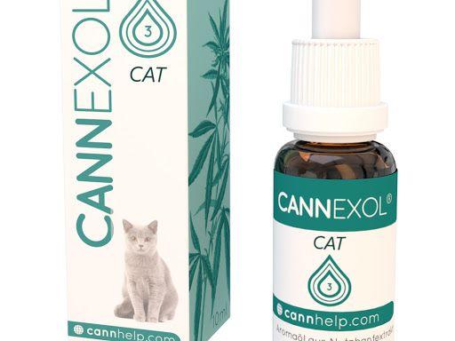Cannexol Cat 3% CBD Öl   Katze   zertifiziert   10ml   Aroma