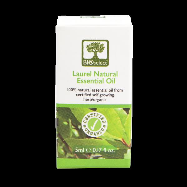Lorbeer - biozertifiziertes, natürliches, essentielles ätherisches Öl
