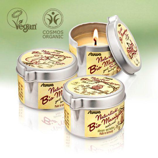 BIO-Massagekerze vegan
