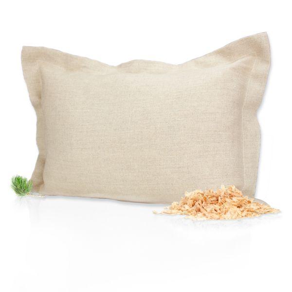 Bio-Zirben Kissen | 34cm x 24cm | nachhaltig | 1 Stück