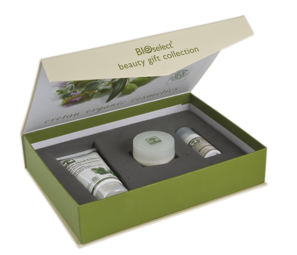 Geschenkbox - 24hour Cream 15ML + Anti-Wrinkle Eye Cream 30ml + Olive Hand Cream