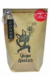 Yoga Auszeit Wundertüte für eine kleine Entspannung