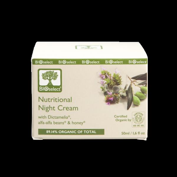 Anti-Falten Nachtcreme - intensive hautnährende Formel
