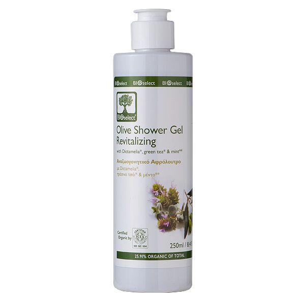 Revitalisierendes Bio-Oliven Dusch- und Badegel mit Frischekick