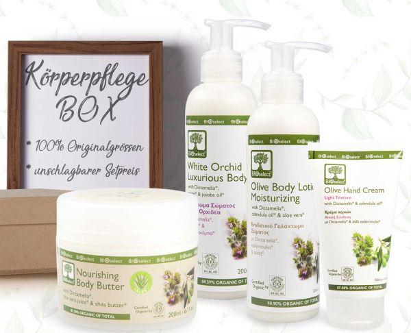 Körperpflegebox | LIMITED EDITION | BIOselect® | 100% Originalgrößen zum Spezialpreis