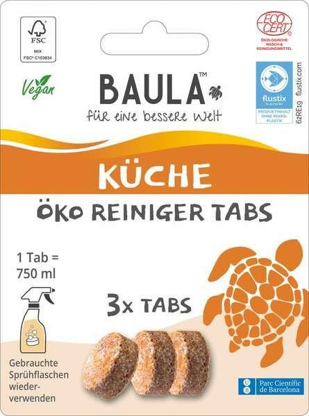 Biobaula ® 3x Küchen Öko-Tab | biologisch abbaubar |