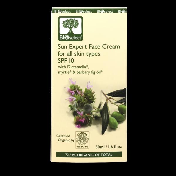 Schützende Tagescreme für das Gesicht mit SPF10 für alle Hauttypen