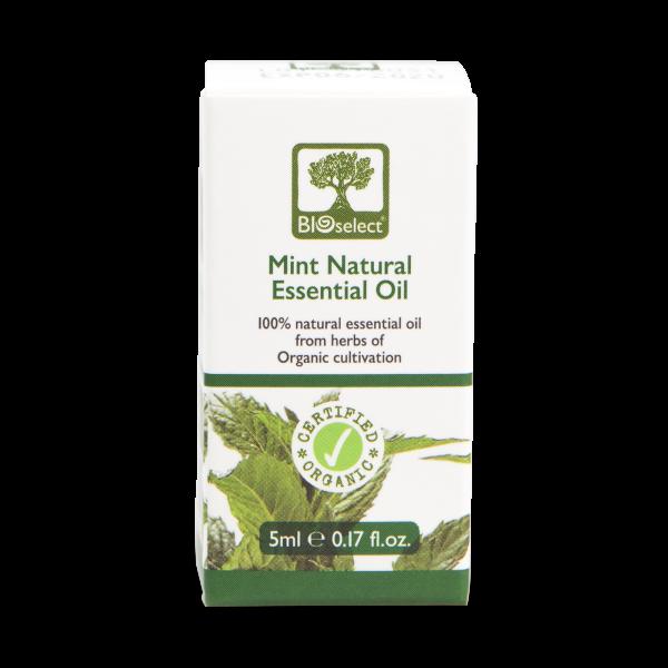 Minzöl - biozertifiziertes, natürliches, essentielles ätherisches Öl