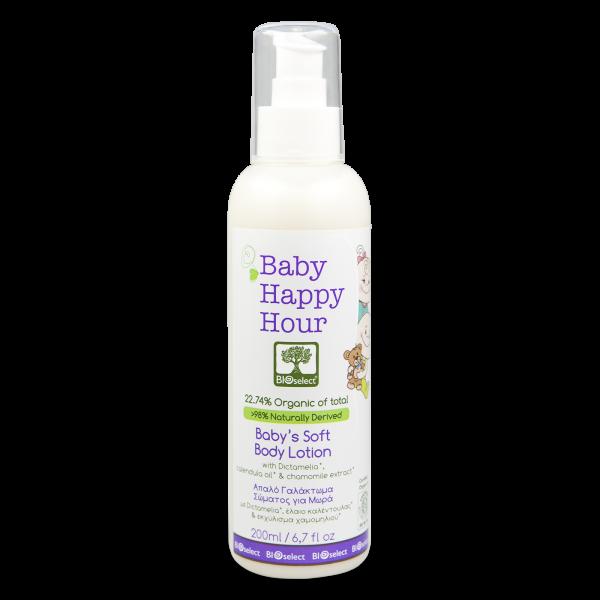 Happy Hour - Milde Bio-Körpermilch für Babys
