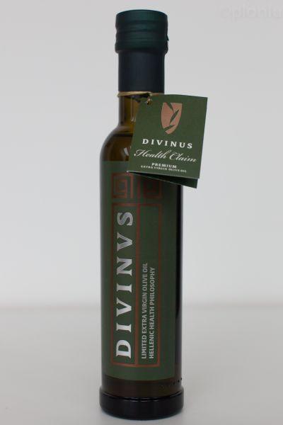 Divinus - hochpolyphenolisches extra natives Olivenöl - 250ml Standard Glasflasche