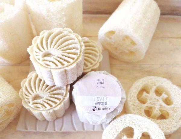 Sensitiv Shampoobar | festes Shampoo | solid | vegan | duftfrei für sensible Haut & Babys