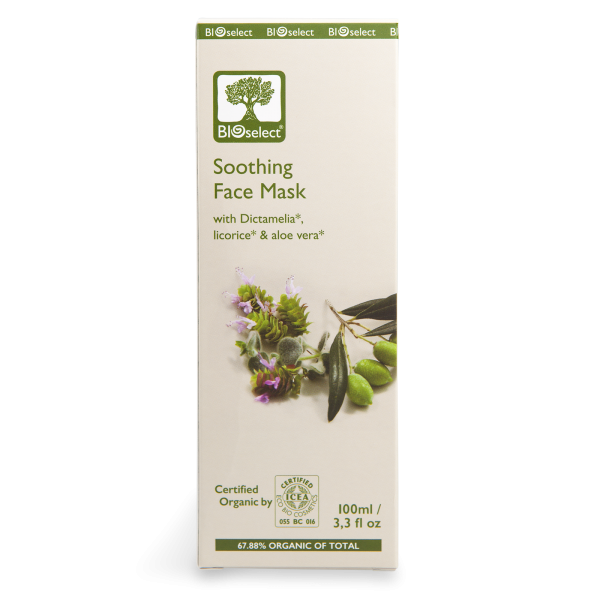 Feuchtigkeitsspendende und regenerierende Gesichtsmaske